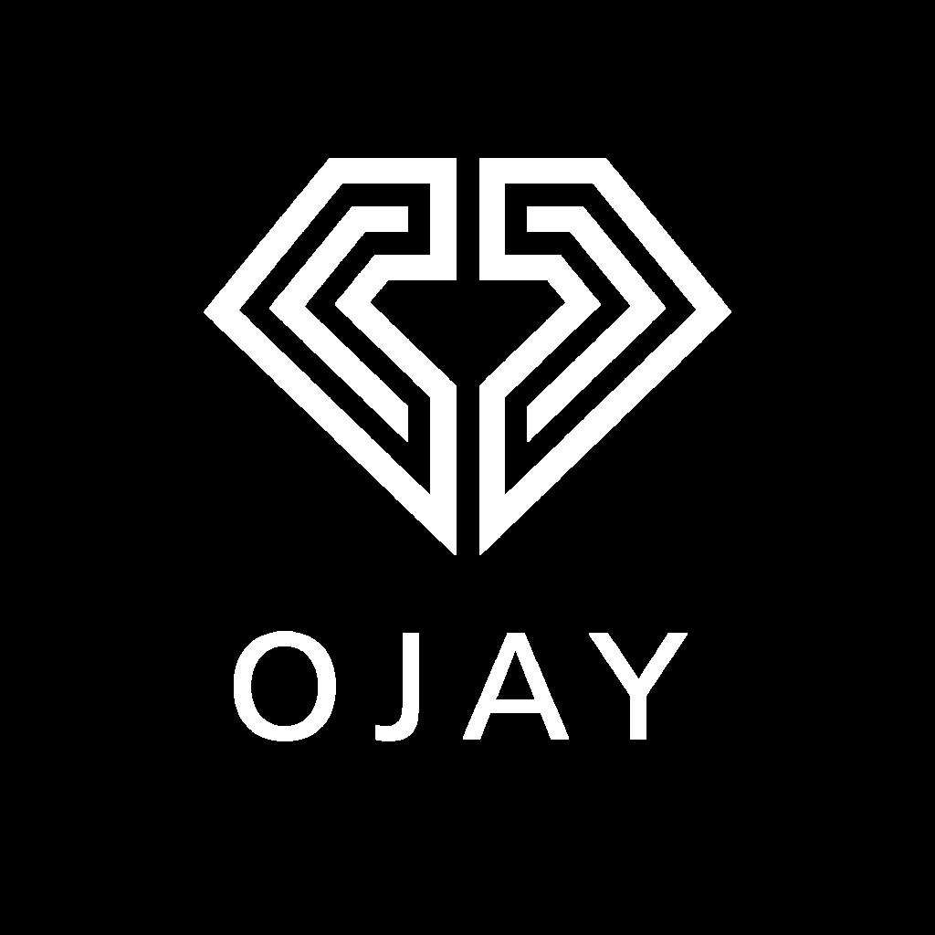 OJAY Logo White