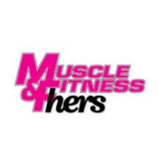Muscle & Fitness Hers Logo