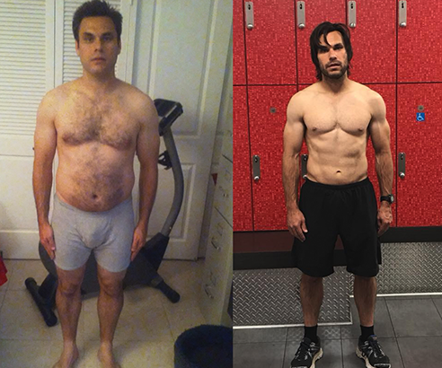 Ron Reich Before and after